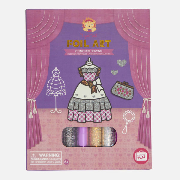 Foil Art - Princess Gowns