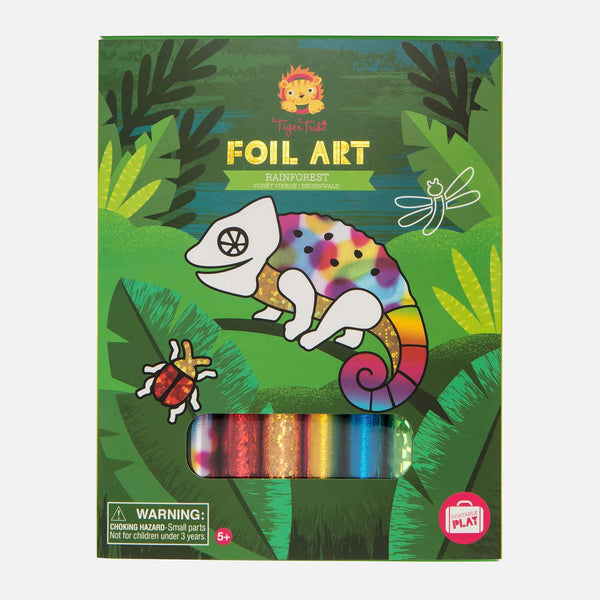 Foil Art - Rainforest
