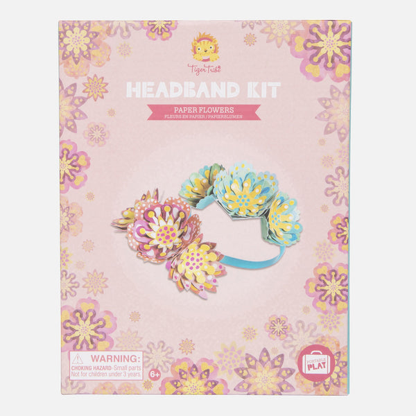 Headband Kit - Paper Flowers