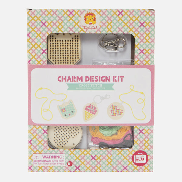 Charm Design Kit - Cross Stitch