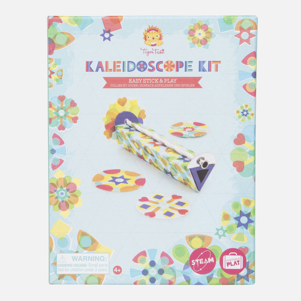 Kaleidoscope Kit - Easy Stick & Play