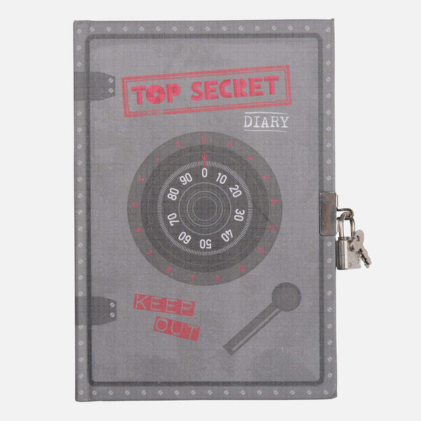 Lockable Diary - Top Secret