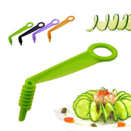 1Pc Cucumber Carrot Potato Vegetables Spiral Knife Slicer