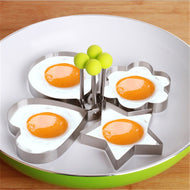 1Pcs Stainless Steel Fried Egg Mold Kitchen Gadget