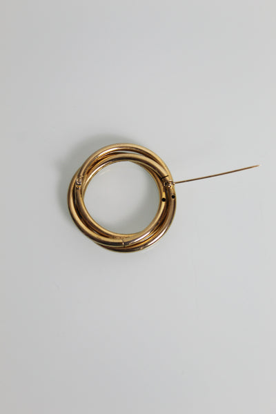 1950s Twist Brooch