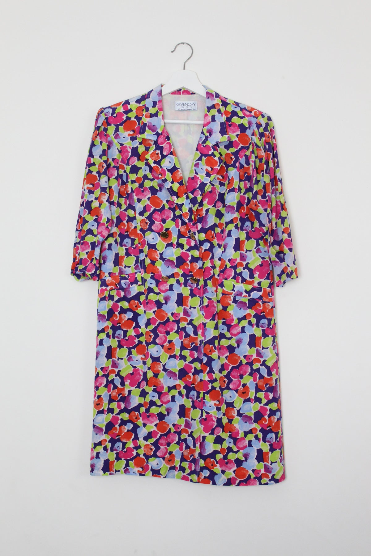 Givenchy Silk Floral Dress