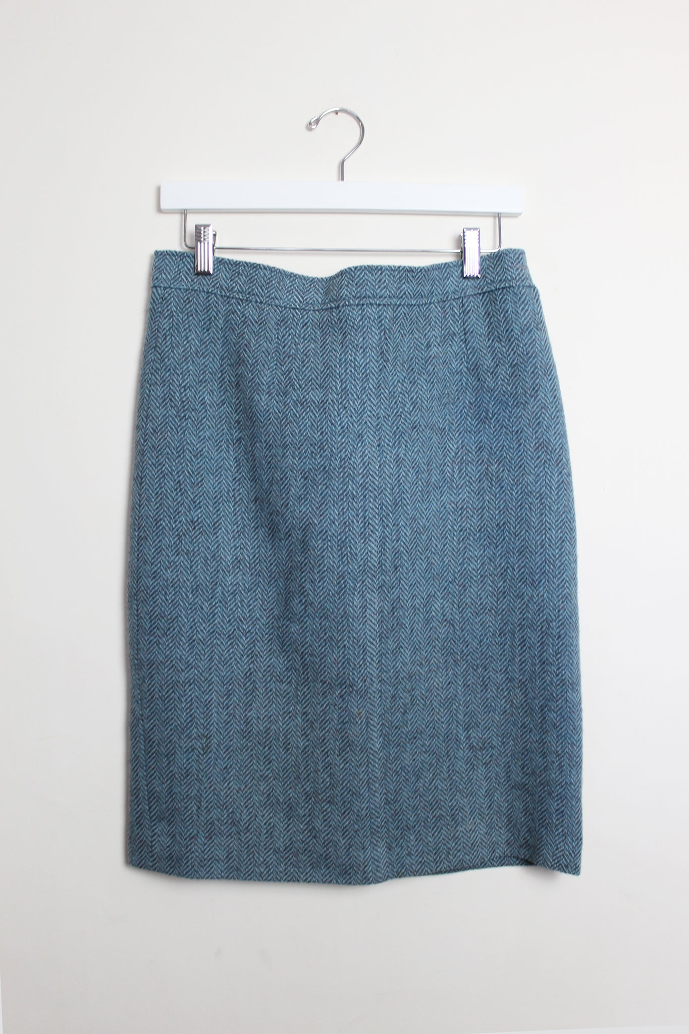 Yves Saint Laurent Tweed Pencil Skirt