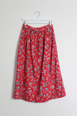 Laura Ashley Fabric Skirt