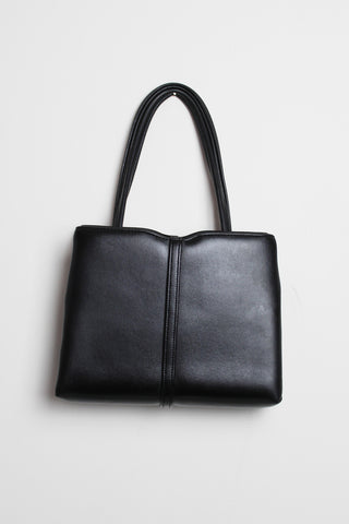 Black 1960s Top Handle Bag