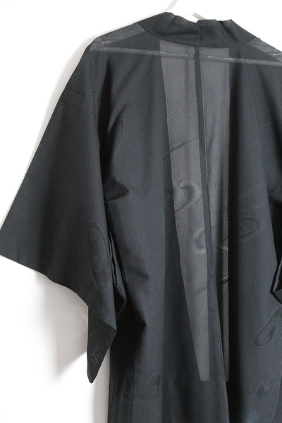 Black Sheer Haori