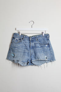 Levi's 501 Cut-off Denim Shorts