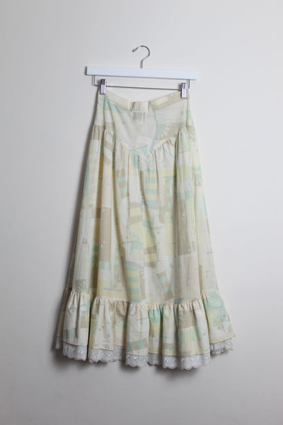 Pleated Prairie Skirt
