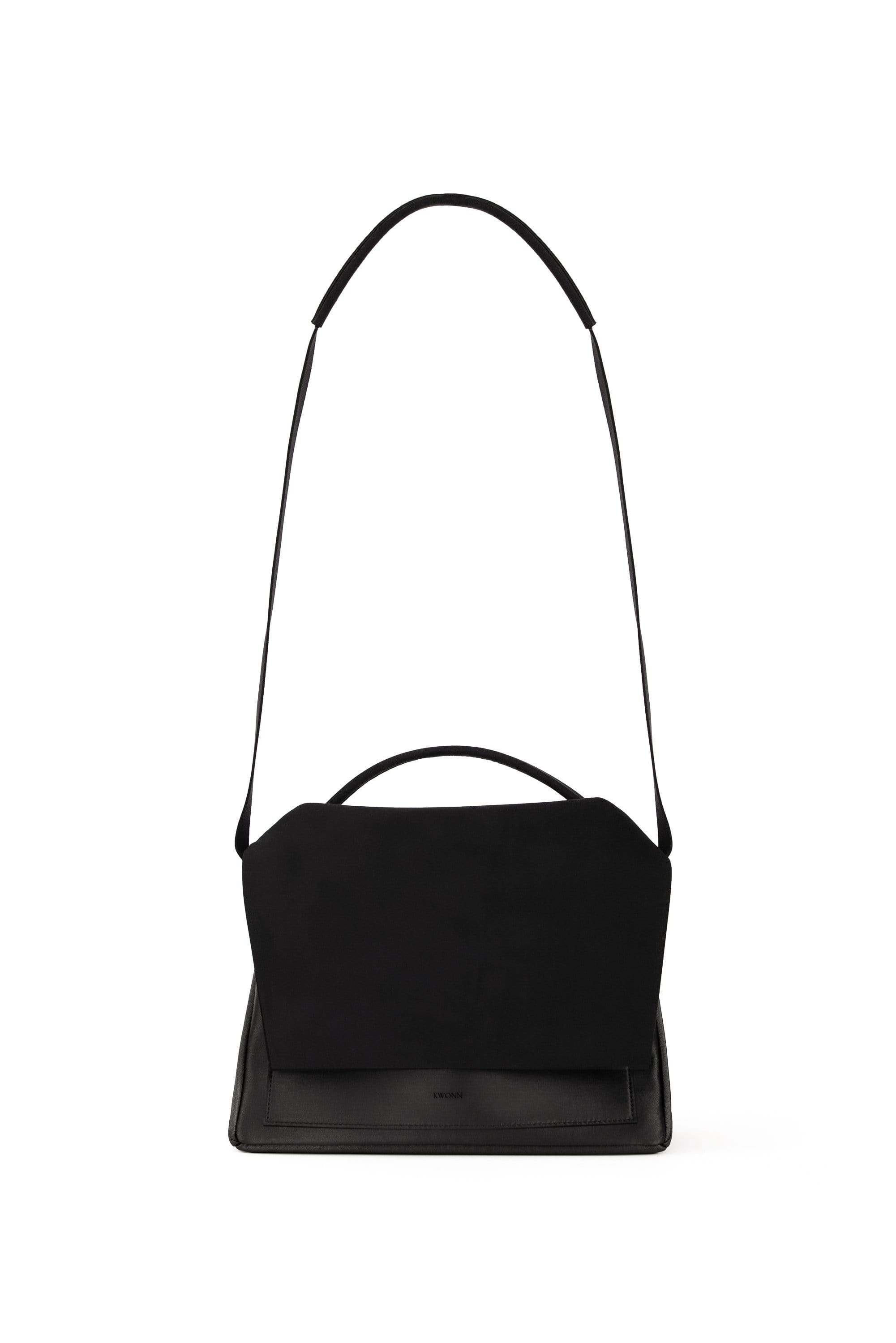 KWONN BAG Black Crossbody vegan bags luxury bags handbags