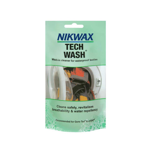 Nikwax Tech Wash 100ml Pouch