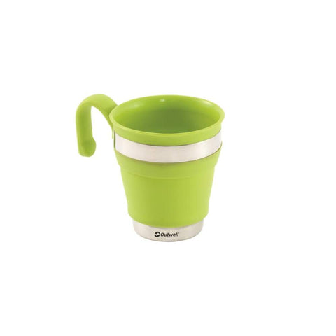 Outwell Collaps Mug Lime Green