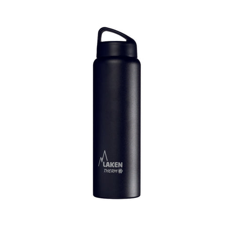Laken Classic Thermo 1.0 Ltr Black