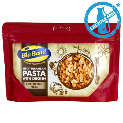 Bla Band Mediterranean Pasta Chicken Dehydrated Meal lactose free