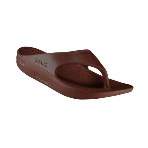 Telic Energy Flop Flop - Espresso Brown