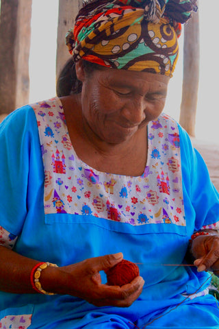 Hands of Colombia sources directly from Wayuu Artisans