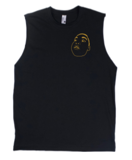 BIG NUZZ Unisex Black & Gold Tank Top  *Pre-Sale Only*
