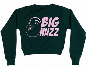 BIG NUZZ womens crop top jumper