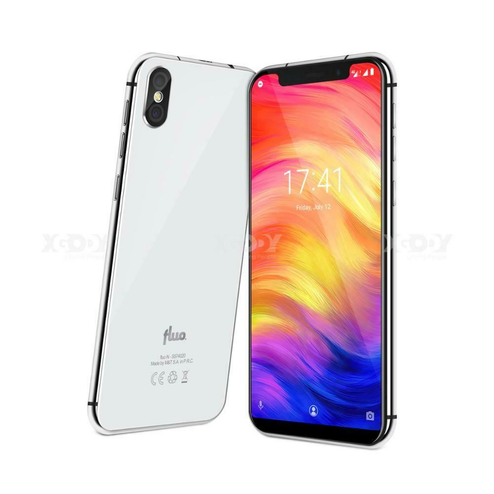 XGODY Fluo N 4G debloque 5.7 pouces Débloqué Android 8.1 3 GB + 32 GB Face ID