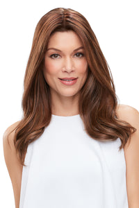 Topper - Jon Renau Easipart XL French Human Hair Topper 18""