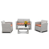Bonnlo 4 Piece Patio Furniture Set