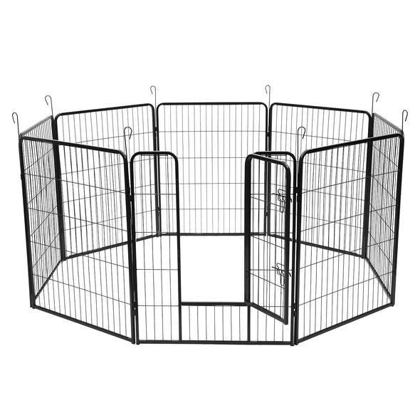 Bonnlo 38 inch Dog Playpen, 8 Panels