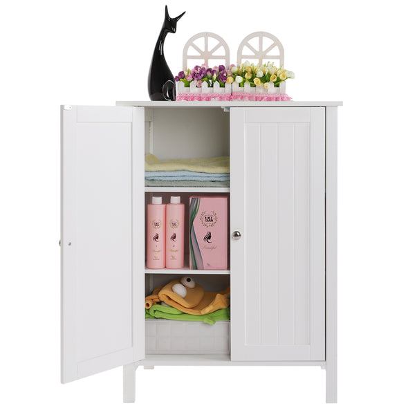 Bonnlo Double Door Bathroom Floor Cabinet