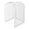 "Bonnlo 30"" Tall Free Standing Dog Gates"