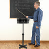 Bonnlo Mobile Lectern Podium Stand, Height Adjustable Church Classroom Lecture
