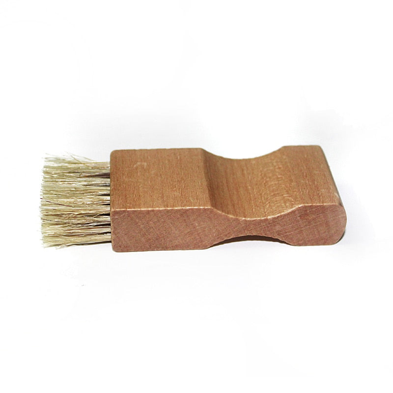 Beech Handle Shoes Shine Brush