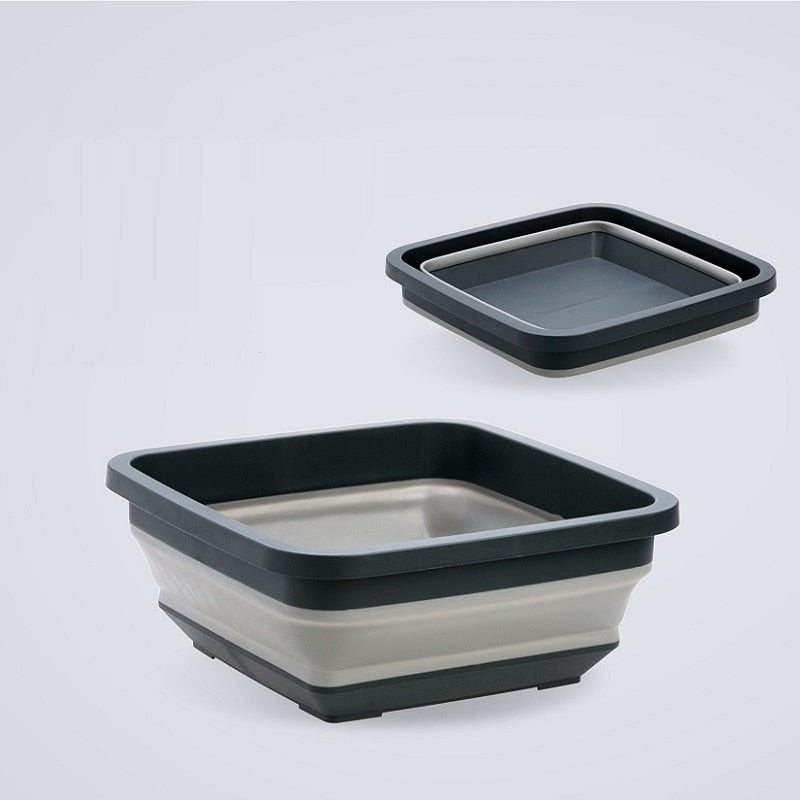 Multifunction Portable Silicone Basins
