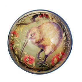 Kiwi on Gold Foil Paperweight