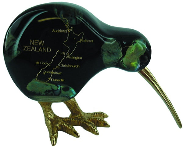 A26 Kiwi Nz Map Resin Mosaic