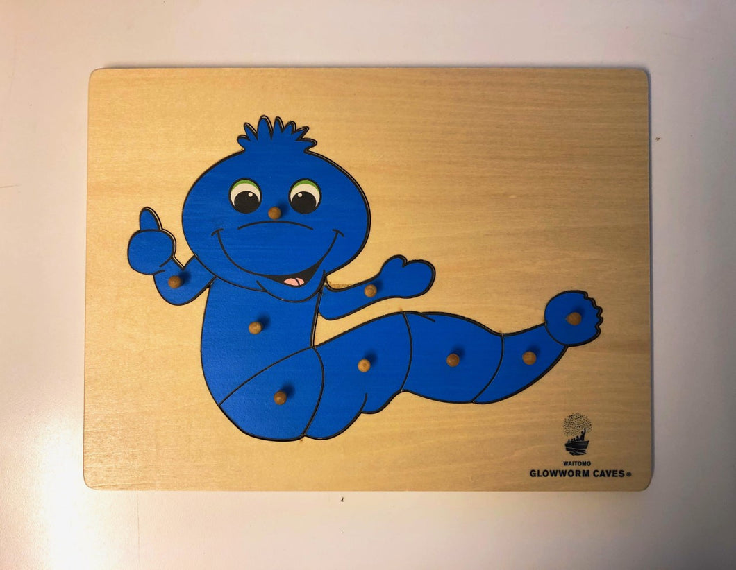 Puzzle Bluey wooden with WGC logo
