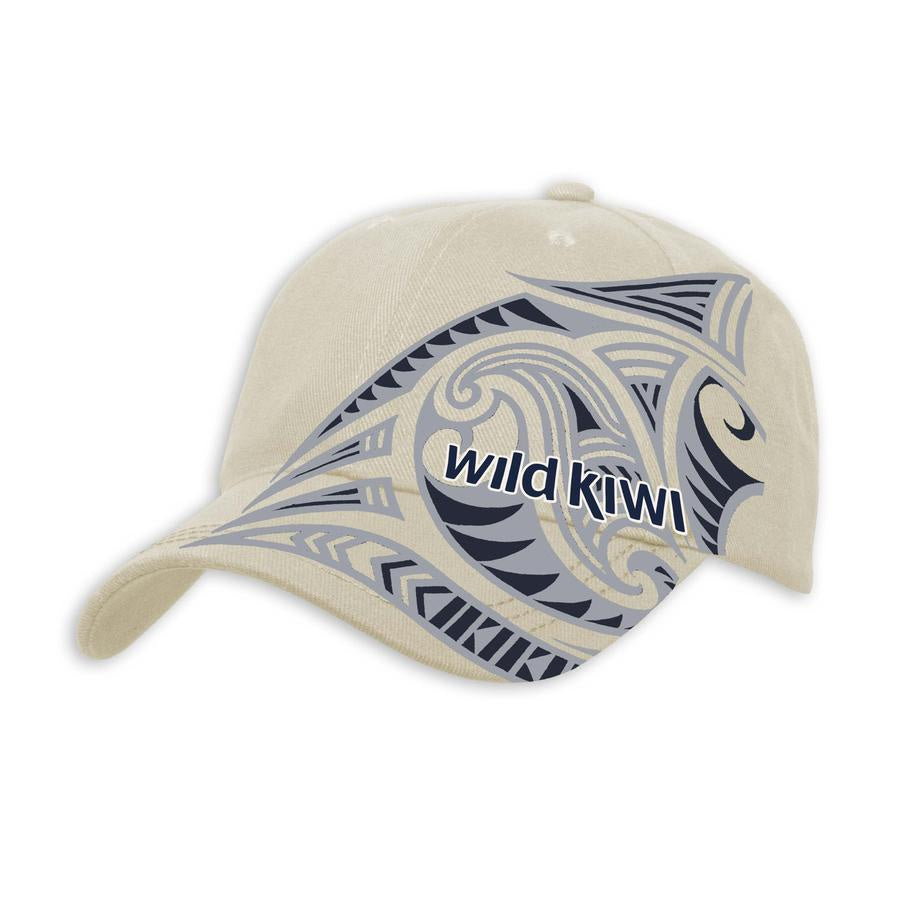 Beige Tattoo Cap