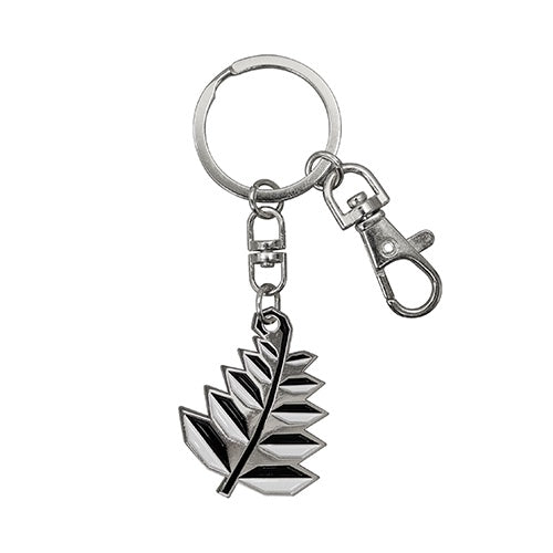 Key Ring Geometric Fern