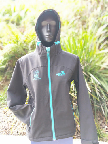 Womans Hooded Soft Shell Jacket WGC