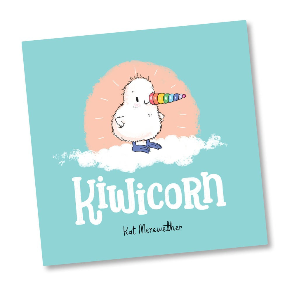 Kiwicorn Hard Cover Book