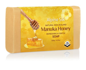 ASM210 Alpine Silk Manuka Soap 120g