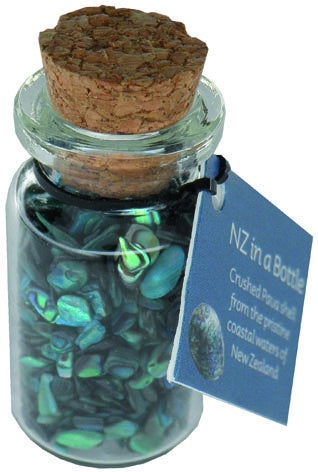 S60 Crushed Paua Shell in Bottle