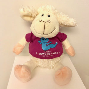 Waitomo Glowworm Sheep with Pink tee