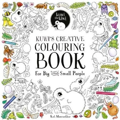 Kuwis Creative Colouring Book for Big or Small People