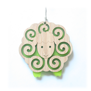 Bamboo Ornament - Sheep
