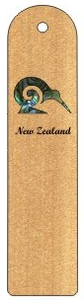 1 Kiwi Paua Bookmark