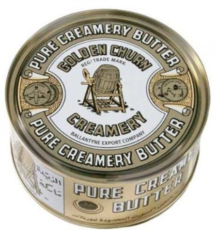 Golden Churned Butter 340g