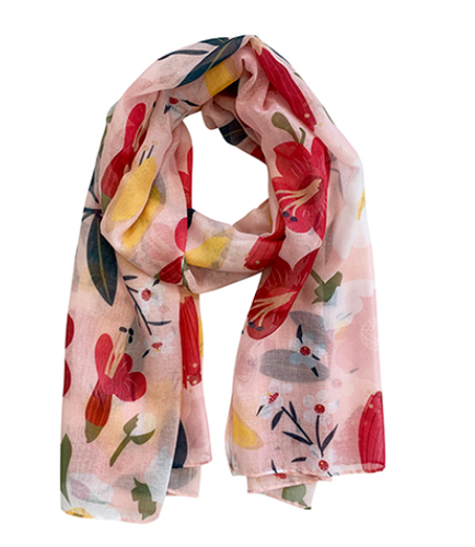 Scarf Recycled Aoteoroa Bloom pk3
