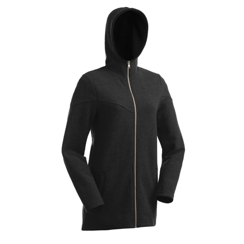 Merino Bellbird Hooded Jacket